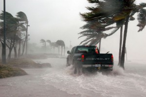 Key West, Florida during Hurricane Dennis, 2005