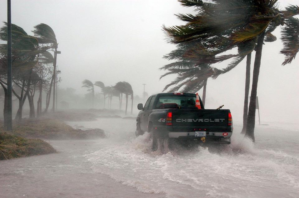 Key West, Florida during Hurricane Dennis, 2005
